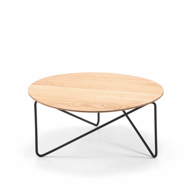 table basse plateau bois polygon prostoria