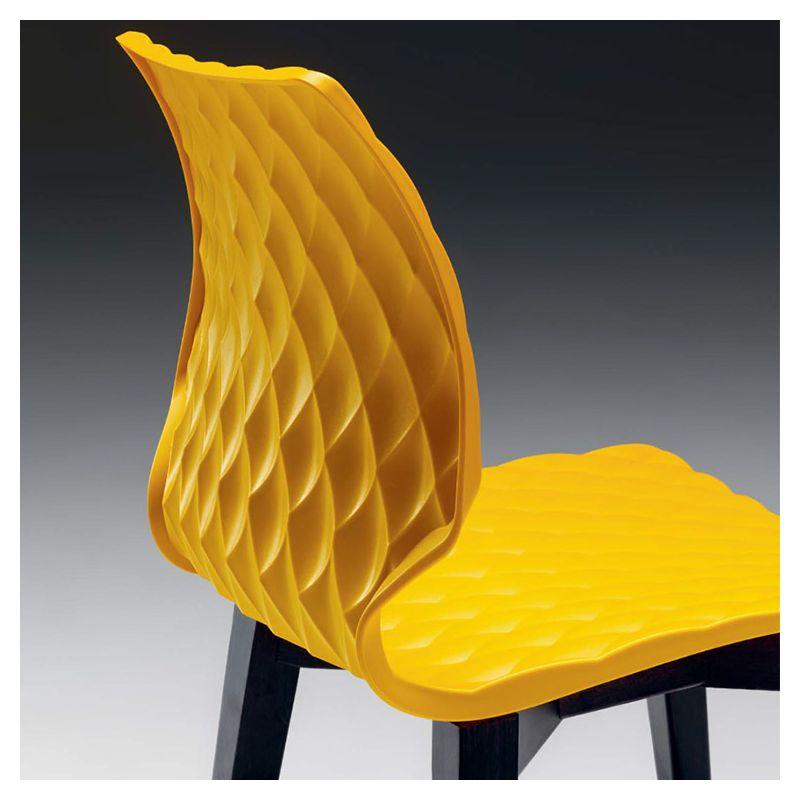 UNI Chaise De Bar Design En Bois Metalmobil