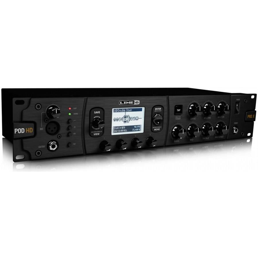 line 6 pod hd pro x rackmount guitar effects processor gitar rack prosesoru