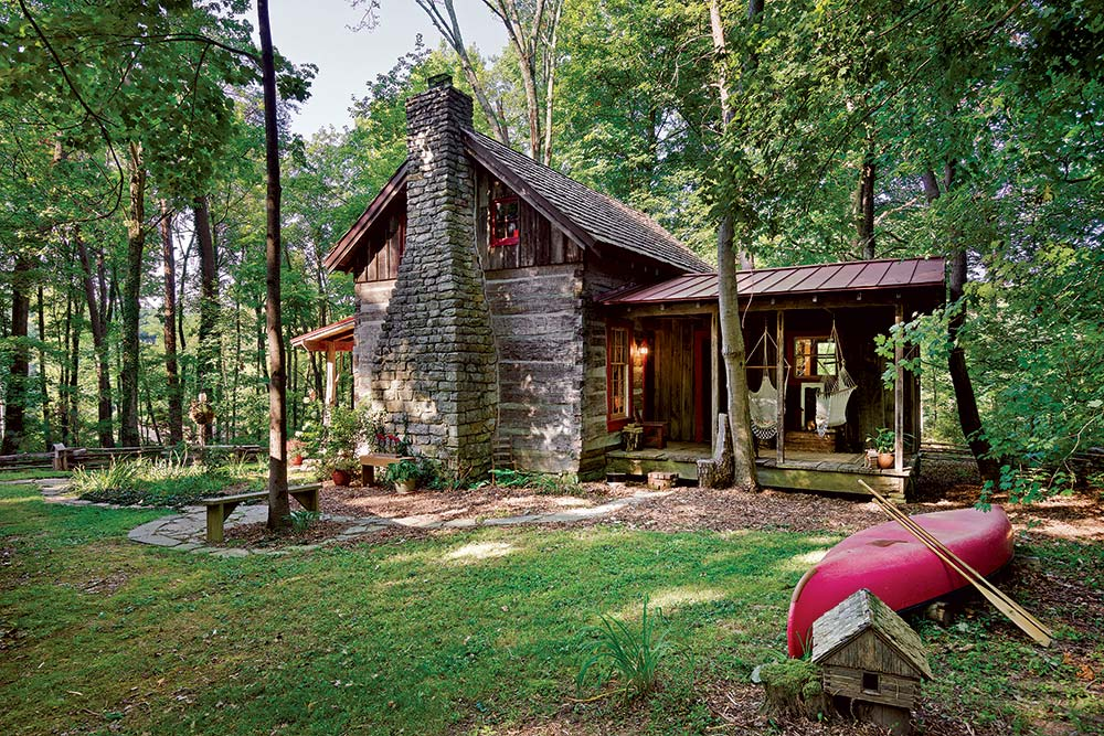 Front Porch Cabin Tiny