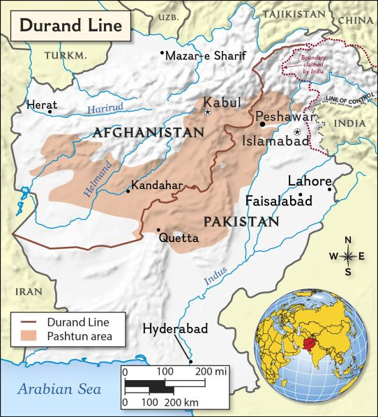 Resultado de imagen para China , Afganistan , Pakistán mapa