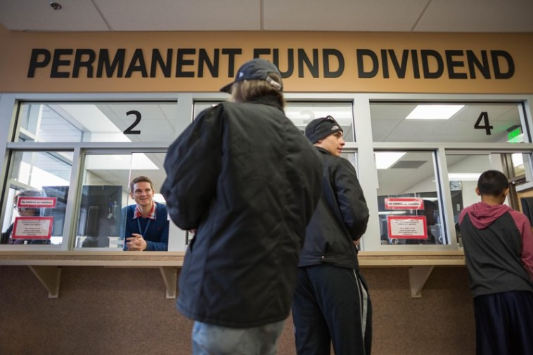 A PFD Technician helps people process their Permanent Fund Dividend applications