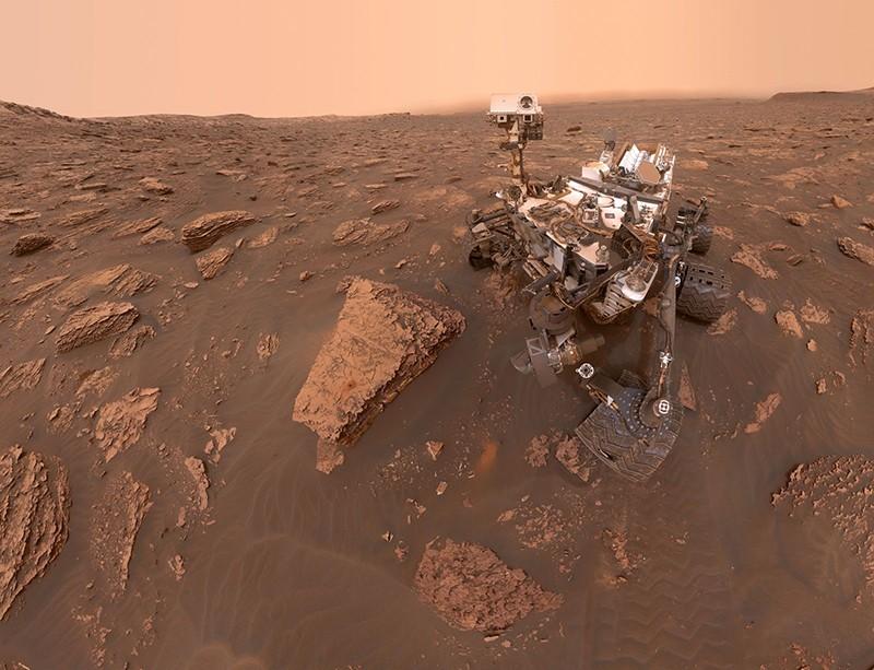 A self-portrait of NASA's Curiosity Mars rover