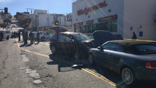 Five Injured in Four-Car Crash in SF's Marina District