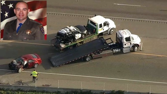 CHP Officer Hit by Suspected Drunk Driver, Killed on I-880 ...