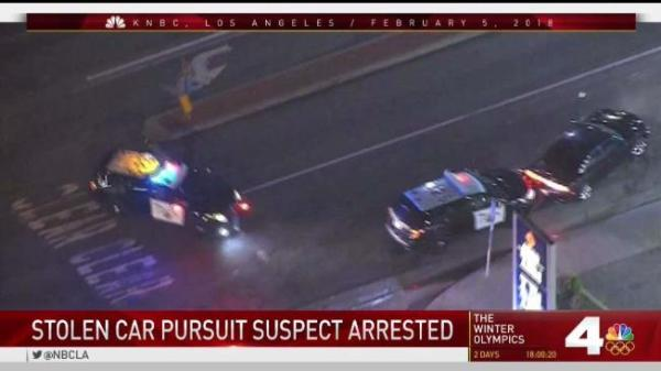 Driver of Stolen Dodge Leads Officers on Chase Across ...