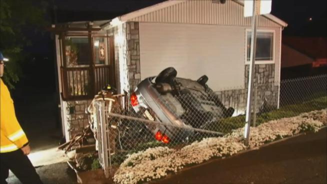 Car Crashes into El Sobrante Home, No Injuries