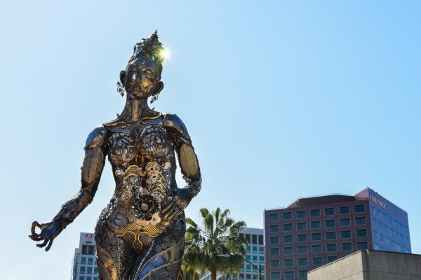 Artist Hopes San Jose's Latest Burning Man Sculpture Based ...