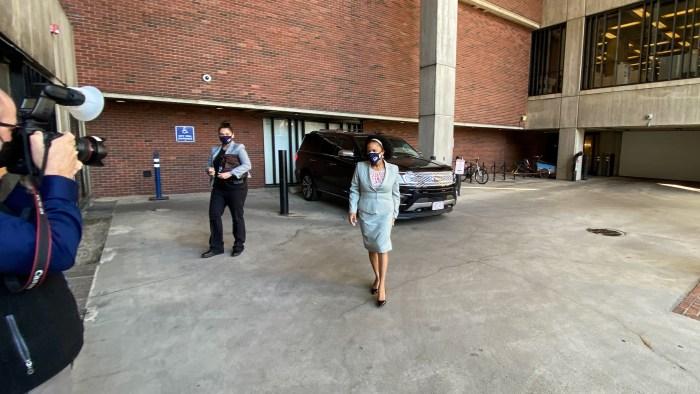 Kim Janey Has 1st Day as Acting Mayor of Boston – NBC Boston