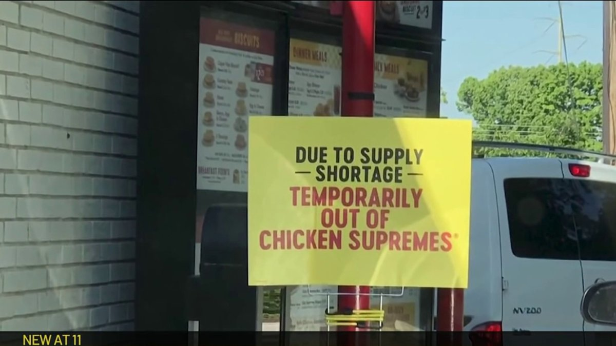 Temporarily Out of Chicken Tenders? Shortage Impacting Businesses, Customers
