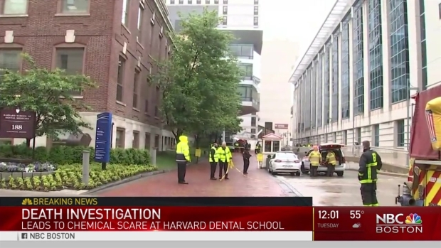 [NECN] Harvard Dental School Evacuated Due to Hazmat Death