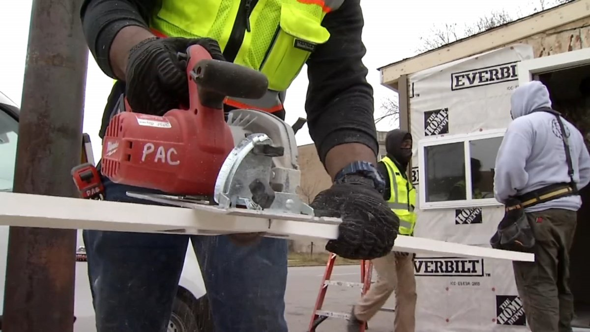 Contractor Making a Difference With Carpenter Training Program