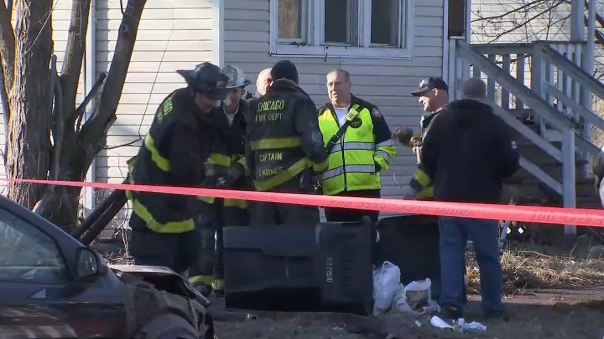 Man With Gunshot Wound Found Dead Following Englewood House Fire