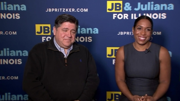 [CHI] 1-on-1 With J.B. Pritzker and Juliana Stratton