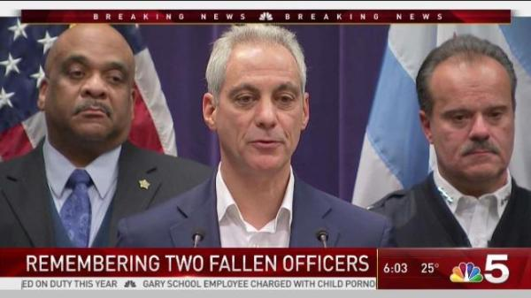 Chicago Mourns 2 Officers Fatally Struck by Train - NBC ...