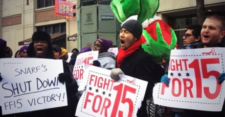 Chicago Fast-Food Workers Strike For Higher Pay