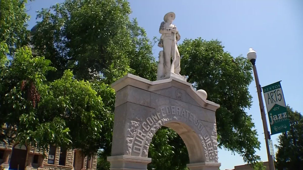 Denton County Courthouse Confederate Monument Moving Inside to Town Square Museum