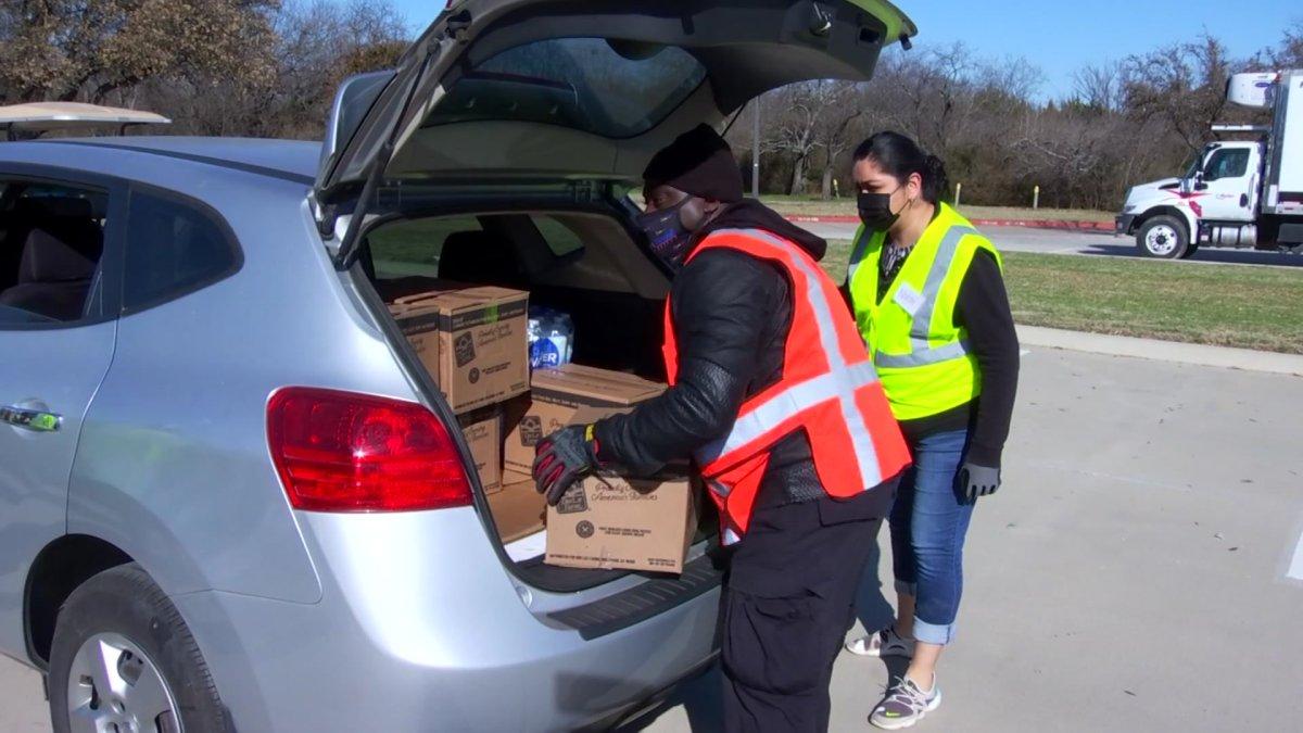 Winter Storm Relief Effort Helps Hundreds in Need of Food, Water