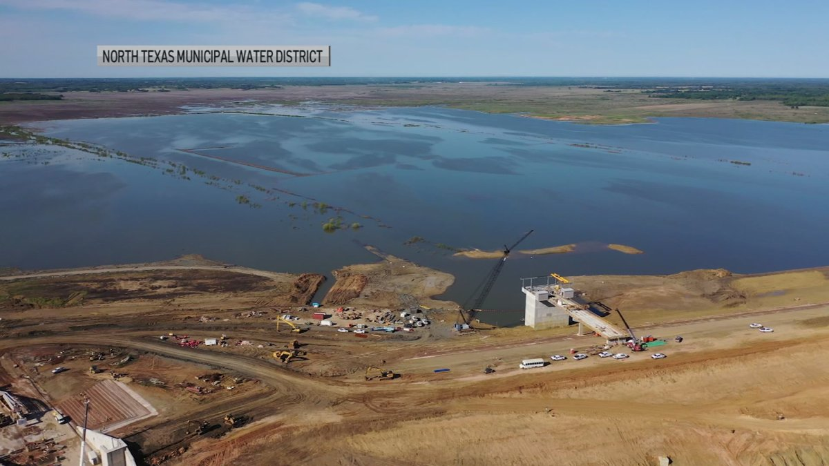 Texas' First Major Reservoir in 30 Years is Filling Up in North Texas