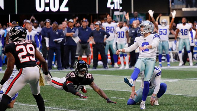 Image result for Ezekiel Elliott touchdown falcons