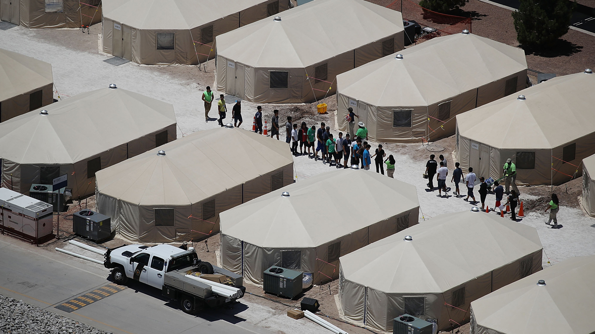 Record Number of Unaccompanied Migrant Children Held in Facilities Meant for Adults 1