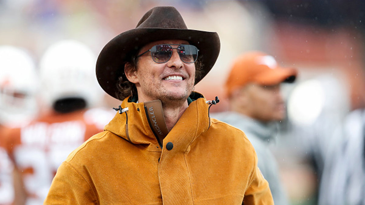Matthew McConaughey Now Says a Texas Governor Run Is 'A True Consideration' 1