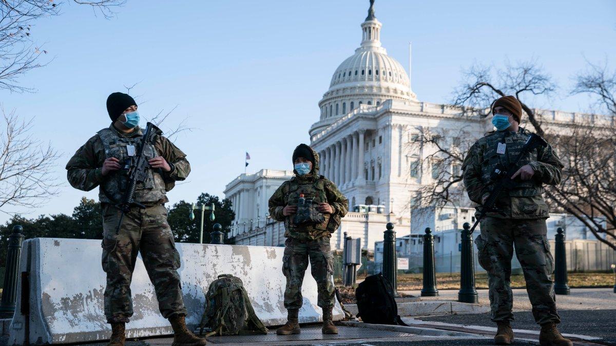 Pentagon Approves Extending Guard Deployment at Capitol 1