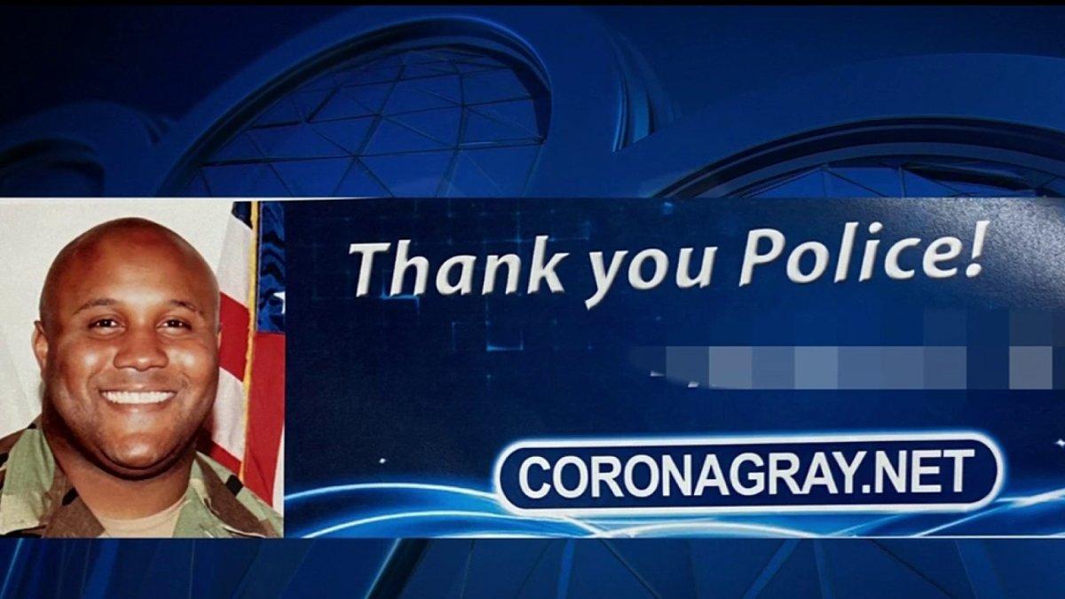 COVID-19 Billboard With Image of Christopher Dorner, Killer LAPD Cop, Sparks Outrage