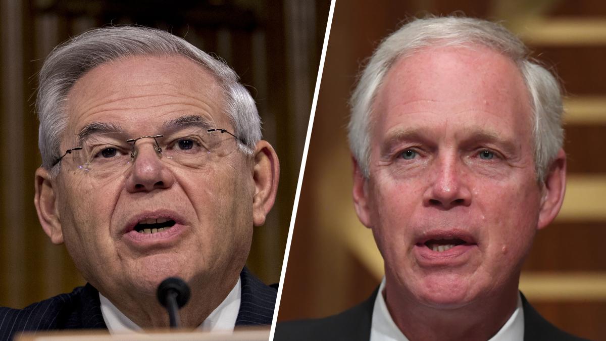 Menendez Calls Johnson 'Racist' on Senate Floor Over Capitol Riot Remarks 1