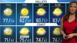 HD Decor Images » Los Angeles Weather  Forecast  Maps and Doppler Radar   NBC Southern      p Onshore flow is in control today and tomorrow  keeping temperatures  cooler than