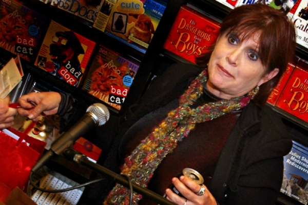 Carrie Fisher at Book Soup