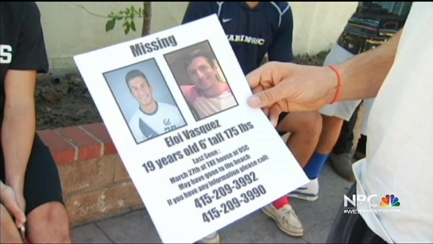 [BAY] Search Underway in LA for Missing UC Berkeley Student
