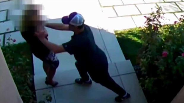 (LA) Captura de video Scary Attack en agente de bienes raíces