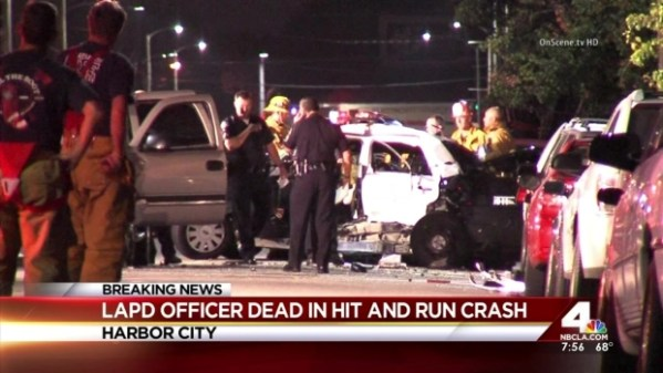 Officer Killed in Hit-and-Run Crash in Harbor City - NBC ...
