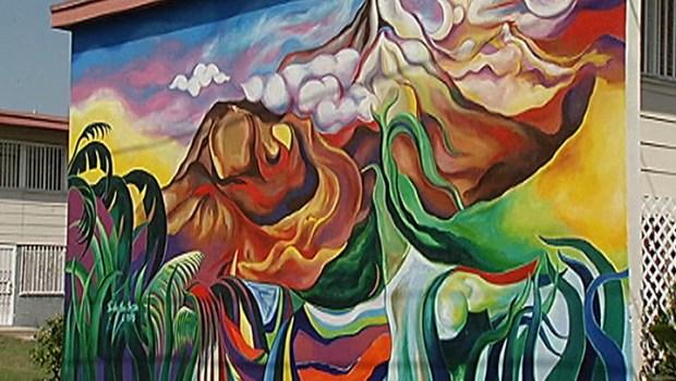 Foster People Downtown La Mural