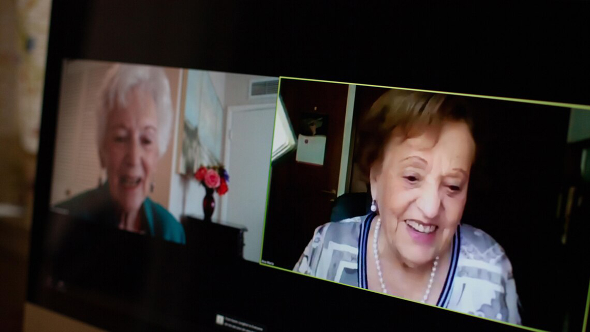 Florida Woman Thought Friend Was Lost in Holocaust; Now, They Zoom
