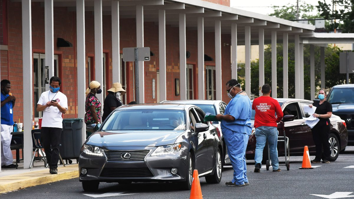Florida Adds Over 9,000 New Covid Cases, Reports 64 More Resident Deaths Tuesday
