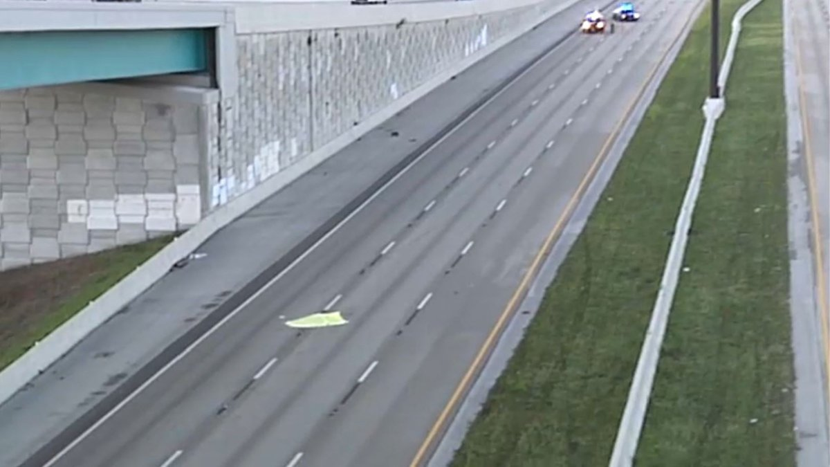 Fatal Motorcycle Crash Closes NB Lanes of Florida's Turnpike in Miami-Dade