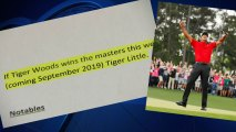 new-tiger-little Texas Man Wins Bet to Name Son Tiger Thanks to Masters Win