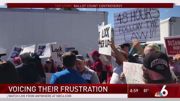 [MI]  Proteste im Wahlamt von Broward