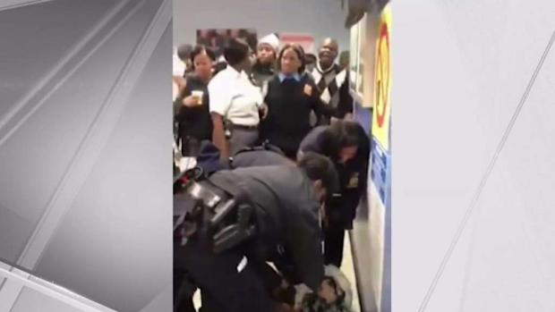[NY] Peace Officers on Leave After Seen Prying Baby From Mother