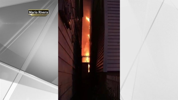 [NY] Screams of Terror as Fire Rages in Paterson