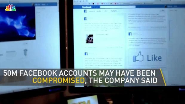 [NY] Facebook Says 50 Million Accounts Potentially Compromised
