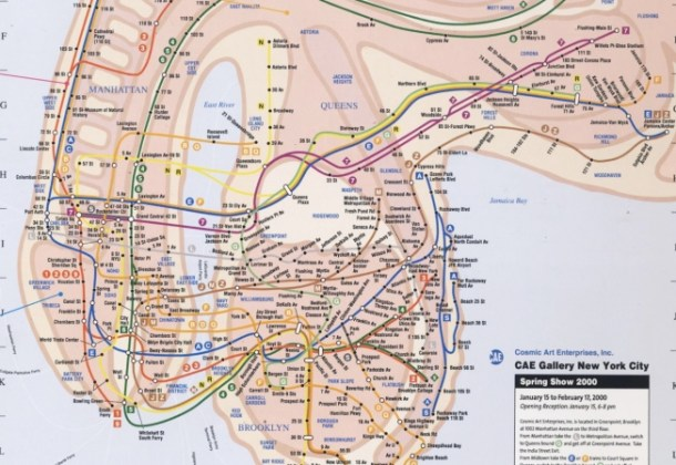 Art or Porn    or NYC Subway Map    NBC New York cae gallery
