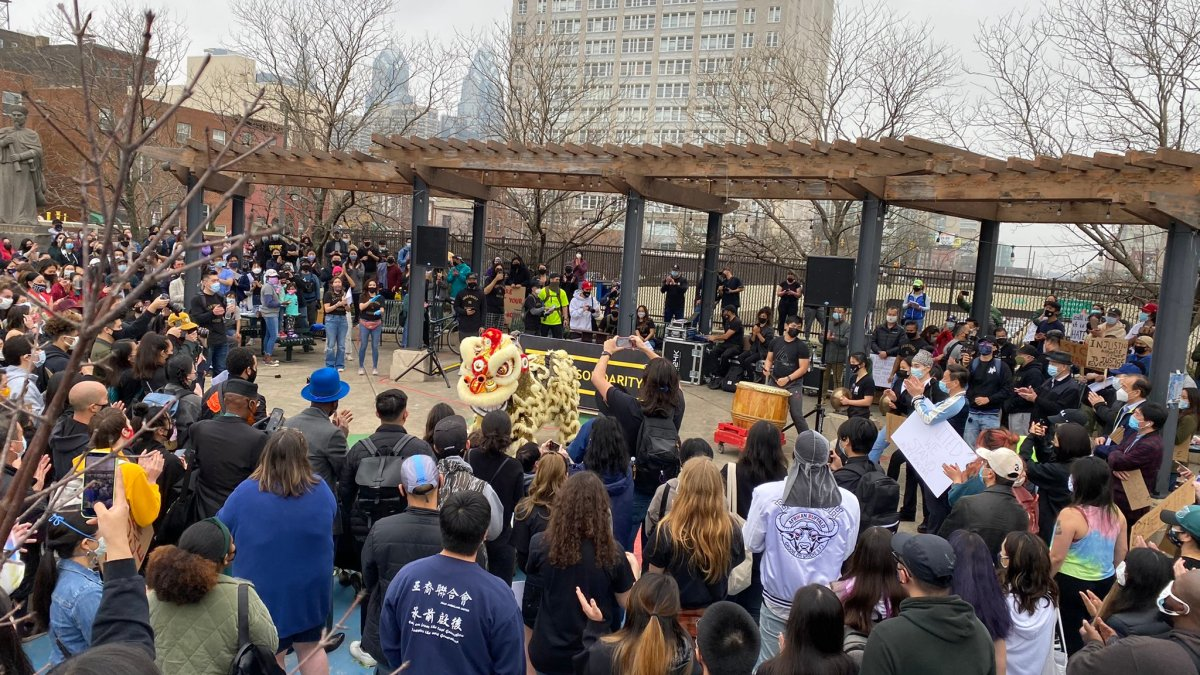 www.nbcphiladelphia.com: Philadelphia Citizens Rally in Solidarity With Asian-American Community