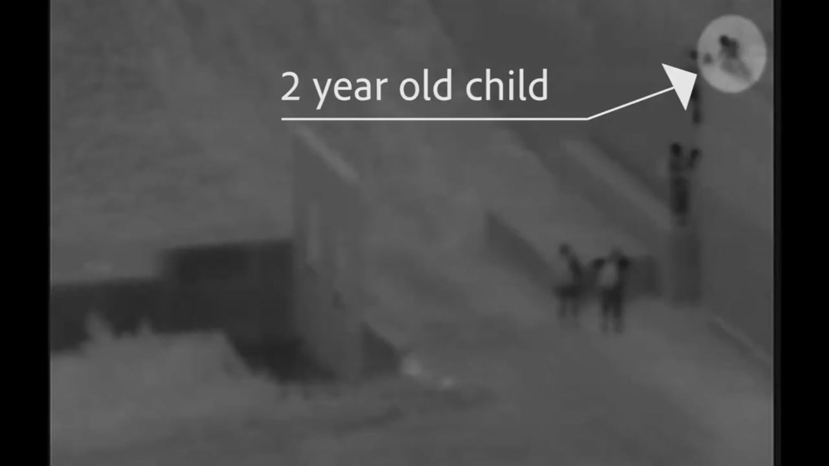 Smugglers Drop 2-Year-Old Child From Border Wall: USBP