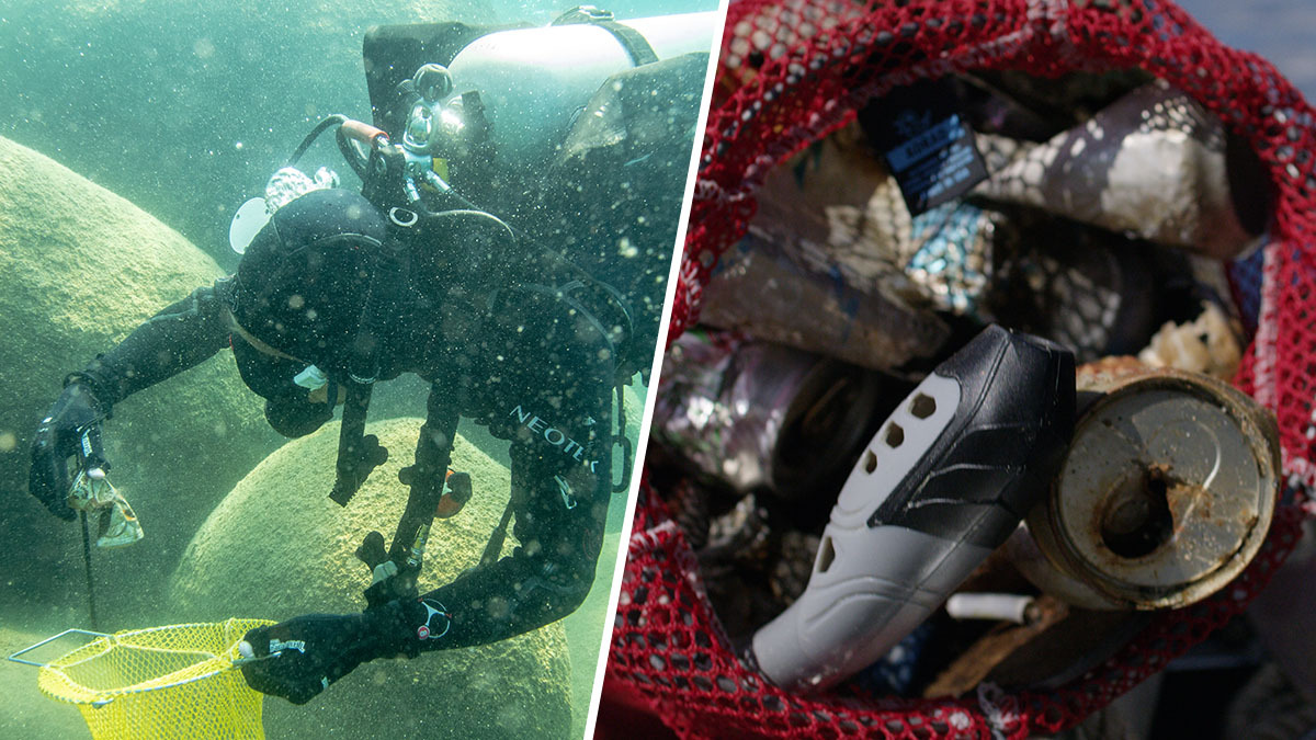 Nonprofit Ready to Dive Into Massive Underwater Cleanup of Lake Tahoe