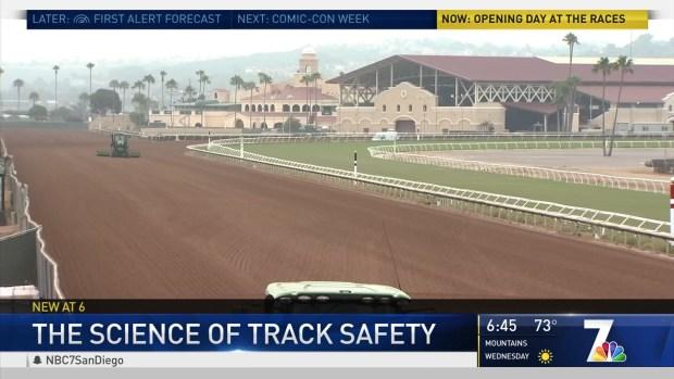(DGO) Nueva tecnología en el país para mantener a los caballos seguros en preparación para las carreras.