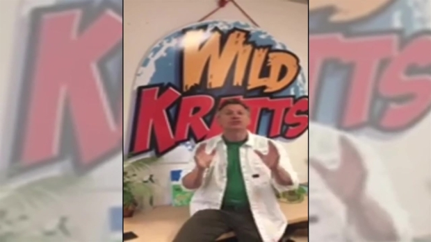 Chris Kratt de Wild Kratts Wild envía un mensaje a Joshy