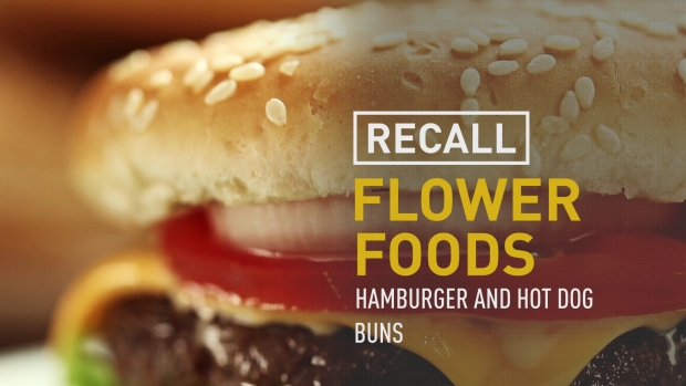 (NATL) Recordar Flores Hamburguesas Alimentos y Hot Dog Buns
